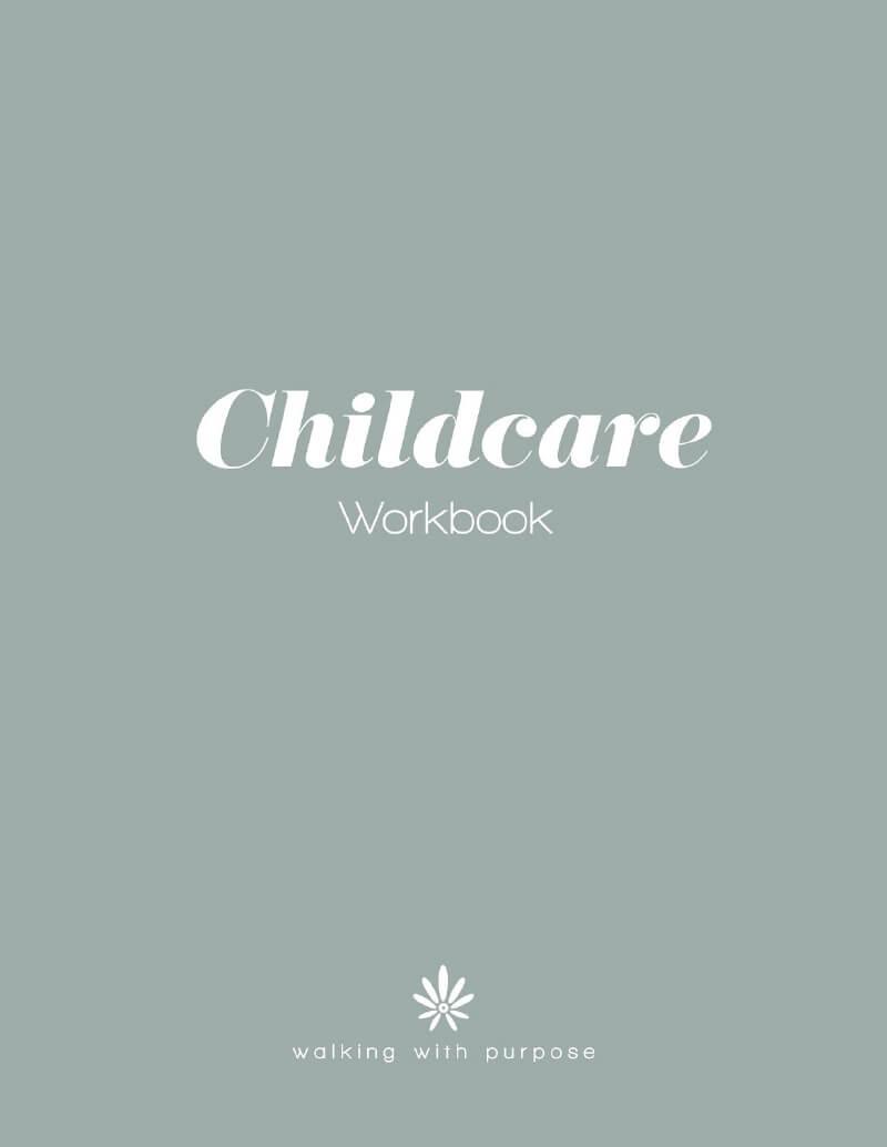 Adult Women Childcare Workbook