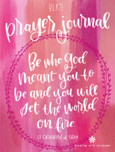 Blaze Prayer Journal