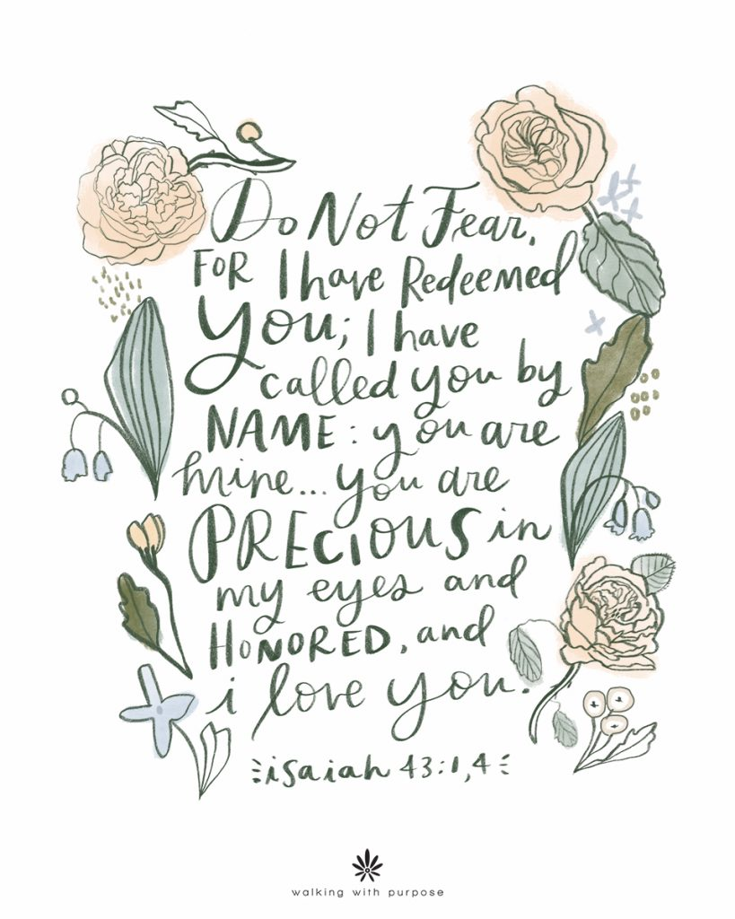 Isaiah 43 FULL COLOR