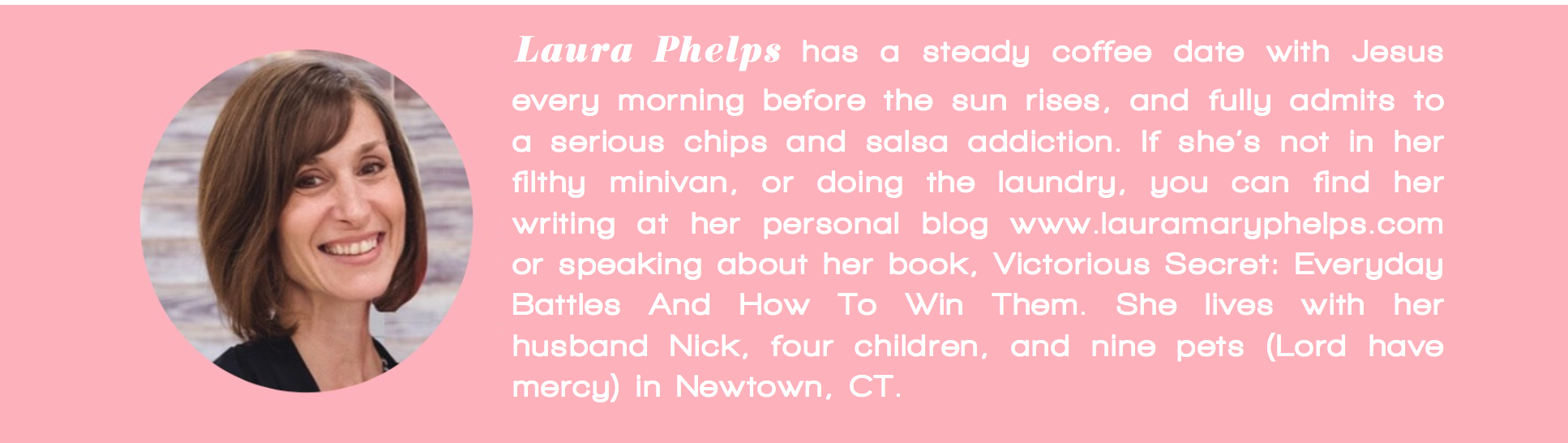 Laura Phelps author bio