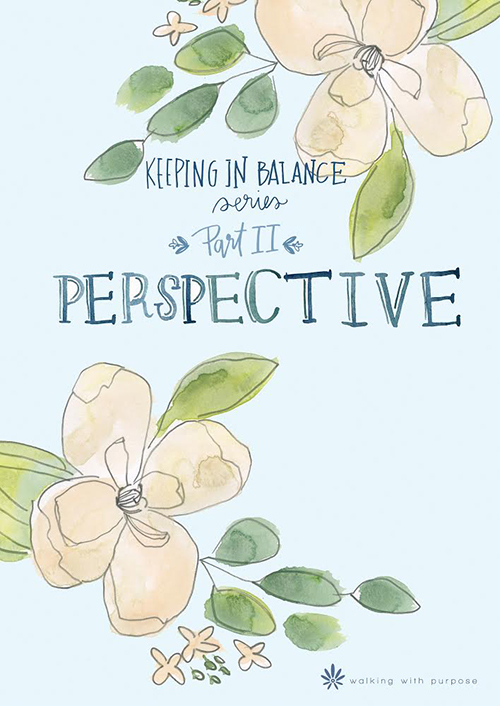 Perspective:  Keeping In Balance Series Part II