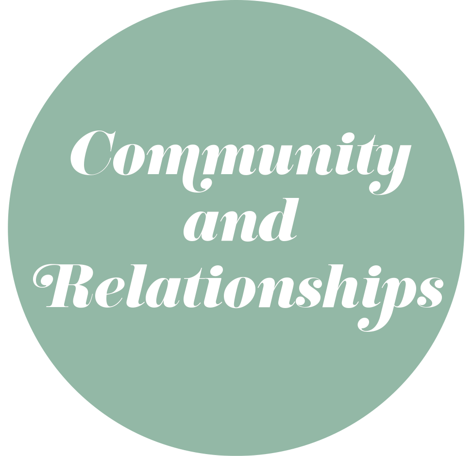 Community and Relationships